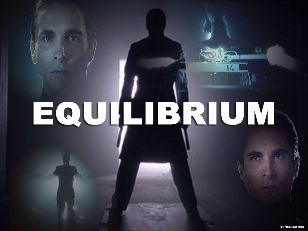 equilibrium movie analysis Watch online full movie: equilibrium (2002), for free subtitles in a fascist future where all forms of feeling are illegal, a man in charge of enforcing the law rises to overthrow the system stream movies.